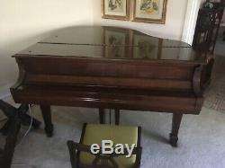 Steinway Baby Grand Model S made in 1946. Beautiful mahogany. Great sound