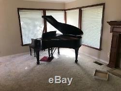 Steinway Baby Grand Piano Ebony Model S 1963