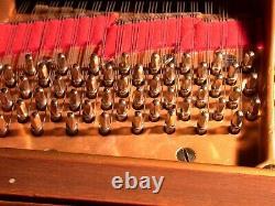 Steinway Grand Model M Walnut 1924 (Partially Rebuilt) Carefully View Below