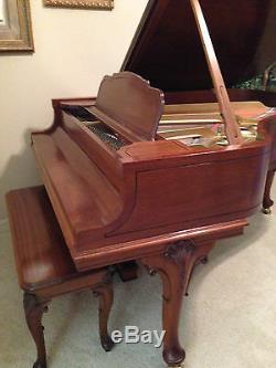 Steinway Grand Piano 1927 Queen Anne Model L- Rebuilt/Restored 2005