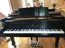 Steinway Grand Piano Ebony Model B Age 27 Years Old