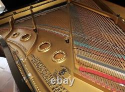 Steinway Grand Piano Model A Original Ebony Case Elephant Legs