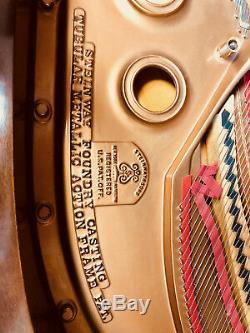Steinway Grand Piano Model A3 / Mahogany / 1917