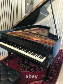 Steinway Grand Piano, Model B, 1984, Black Ebony, new hammers last year