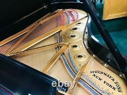 Steinway Grand Piano Model B Satin Ebony