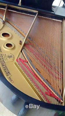Steinway Grand Piano, Model L, 5 ft. 10 1/2 in, Ebony