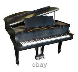 Steinway Grand Piano Model M 5' 7 Ebony Satin Estate Sale