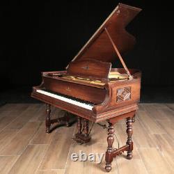 Steinway Grand Piano, Model M 5'7, Rare Style