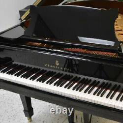 Steinway Grand Piano Model M Black Polish