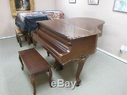 Steinway Grand Piano Model M Louis XV with matching bench