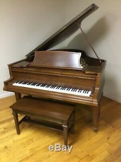 Steinway Grand Piano Ribbon Mahogany 6' 5 Model OR (or LR) Duo-Art Removed