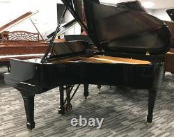 Steinway L 5'10 Grand Piano Picarzo Pianos Polished Ebony Model VIDEO