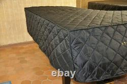 Steinway Lightweight Quilted Cover Steinway Front Logo, Model M 5' 7