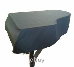 Steinway Mackintosh Grand Piano Cover For 5'1 Steinway Model S Black