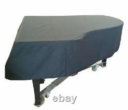 Steinway Mackintosh Grand Piano Cover For 8'11-3/4 Steinway Model D Black
