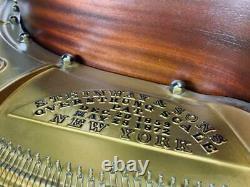 Steinway Model 0 Hamburg 510 Ebony Gloss Grand Piano
