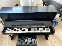 Steinway Model 45 47 upright piano ebony satin, excellent