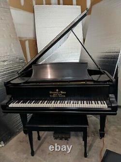 Steinway Model A Grand Piano Ebony Satin Finish