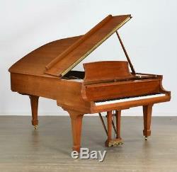 Steinway Model B Grand Piano, Gloss Walnut 6'11, Serial #502254, 1987