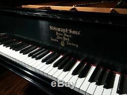 Steinway Model C 75 Ebony Satin Semi-Concert Grand with CUSTOM Stanwood Action