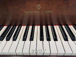Steinway Model L 5'10 Walnut Satin Grand Piano