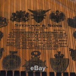 Steinway Model L 6'0 Flamed Mahogany Grand Piano (with Bench, Warranty & More)