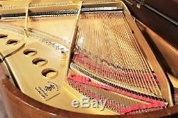 Steinway Model M 5'7'' Grand Piano Mahogany