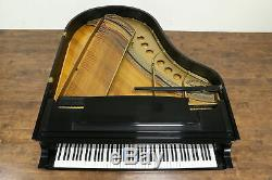 Steinway Model M 5' 7 Vintage Ebony 1953 Grand Piano & Bench #33782