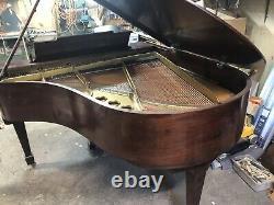 Steinway Model M grand piano 5'7