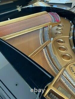 Steinway Model M purchased New 2009 High Gloss Ebony