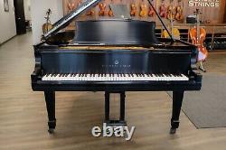 Steinway Model O Grand Piano 1917 Satin Ebony Lacquer Fully Restored