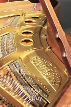 Steinway Model O Grand Piano 5'10'' Figured Mahogany 1909 Restored