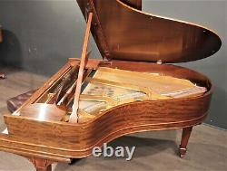 Steinway Model O Grand Piano 5'10'' Figured Mahogany Restored