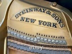 Steinway Model O Parlor Grand Piano and Bench