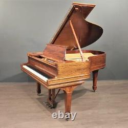 Steinway Model O Player Grand Piano 5'10'' Mahogany Restored PianoDisc/QRS