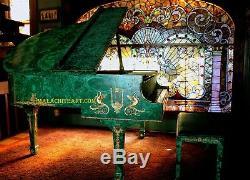 Steinway Model S Malachite Baby Grand Piano