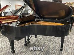 Steinway O 5'10 Grand Piano Picarzo Pianos Satin Ebony Model PLAYER
