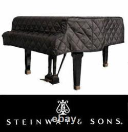 Steinway Quilted Grand Piano Cover For 6'11 Steinway Model B Black