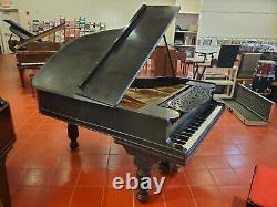 Steinway & Sons Ebony Grand Piano Model A2 Yr 1899 Ivory Keys Made In N. Y. USA
