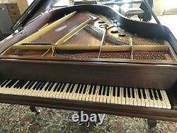 Steinway & Sons Grand Piano Model O All Renner Parts Watch Video