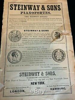 Steinway & Sons Model D Concert Grand