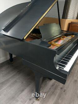 Steinway & Sons Model M Grand Piano Satin Ebony Price Reduced
