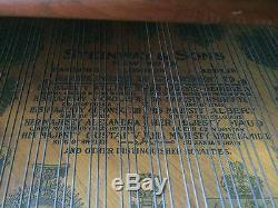 Steinway & Sons Model M Walnut Grand with Bench (100+ years Old) 5' 7