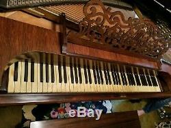 Steinway & Sons Rococo Square Grand Piano Model D