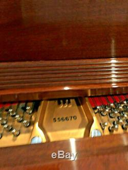 Steinway & Sons Used Louis XV 5'7 Model M Grand Piano