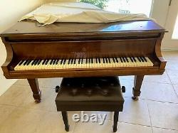 Steinway and Sons Classic Grand Piano Model B (6' 11) Traditional Mahogany