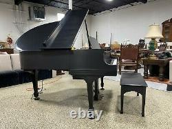 Two Owners over 97 Years 1924 Steinway Model M Satin Ebony
