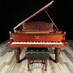 Victorian Rosewood Steinway Grand Piano, Model B 6'10 Completely Restored