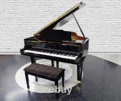 Weber Model WG-57 Parlor Grand Piano with Bench Cr-33121a
