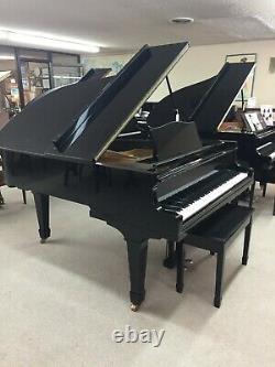 Yamaha 6 Foot Ebony Polish Grand Piano & Bench Model G3 $4,995.00